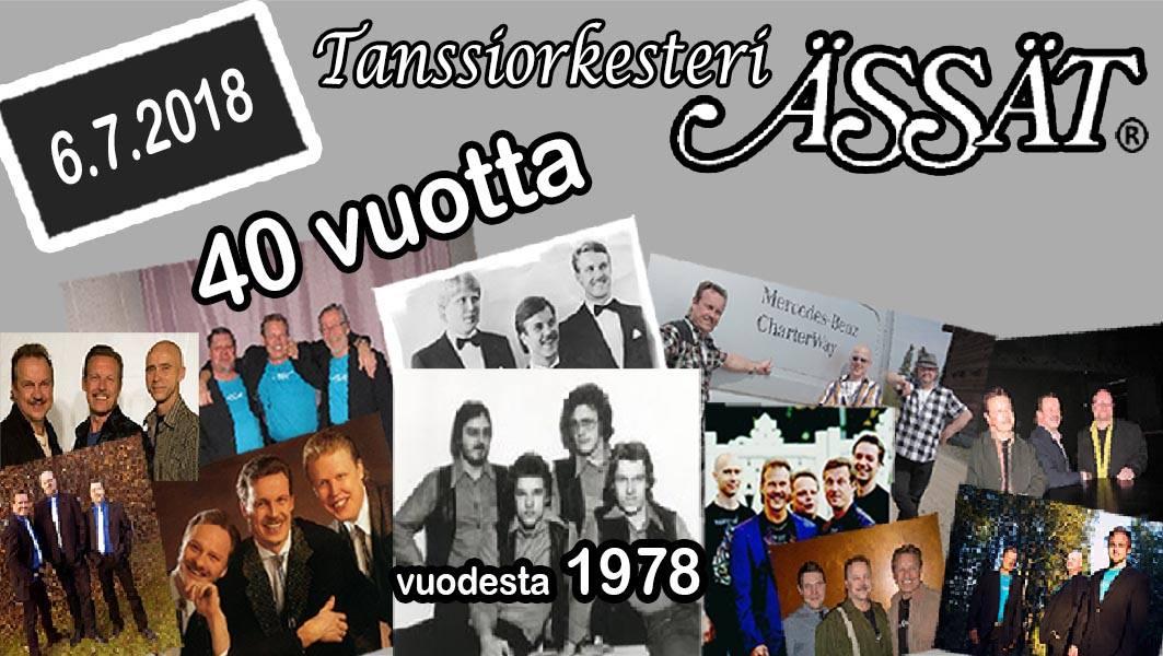 Ässät 40v juhlatapahtuma Oulun Hietasaaressa 6.7.2018